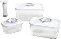Комплект аксессуаров для вакуумирования Status Vac-Glass-Set (белый) -