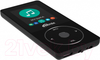 MP3-плеер Ritmix RF-4650 (4Gb, черный)