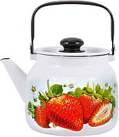 Чайник Лысьвенские эмали Сочная клубника С-2713 П2/4Рч -