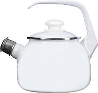 Чайник со свистком Лысьвенские эмали С-2711 АП/РЧ -