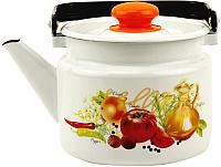 Чайник Лысьвенские эмали Итальянская кухня С-2710 П2/4Рч -