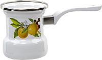 Турка для кофе Лысьвенские эмали Фруктовая фантазия С-4103АП/4 -