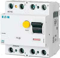 Устройство защитного отключения Eaton PF6 4P 63A 100мА 4M / 286513 -