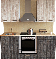 Готовая кухня Хоум Лайн Луиза Люкс 1.8 (сосна пасадена/сосна касцина) -