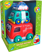 Развивающая игрушка Mommy Love Машинки Би-би-мотики / 618 -