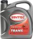 Трансмиссионное масло Sintec ТМ-5-18 80W90 GL-5 / 900275 (4л) -