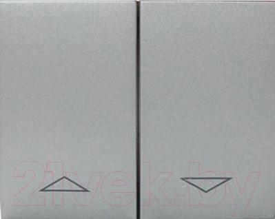 Клавиша для выключателя Legrand, Galea Life 771314 (алюминий), Франция, пластик, Galea Life (Legrand)  - купить со скидкой
