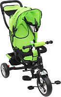 Детский велосипед с ручкой Sundays SN-4in1-TR-12 (зеленый) -
