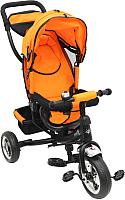 Детский велосипед с ручкой Sundays SN-4in1-TR-12 (оранжевый) -