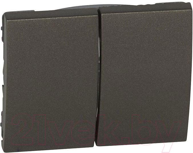 Купить Клавиша для выключателя Legrand, Galea Life 771212 (темная бронза), Франция, пластик, Galea Life (Legrand)