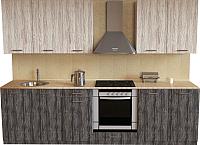 Готовая кухня Хоум Лайн Луиза Люкс 2.6 (сосна пасадена/сосна касцина) -