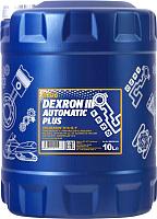 Трансмиссионное масло Mannol ATF Dexron III / MN8206-10 (10л) -