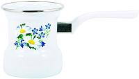 Турка для кофе Лысьвенские эмали Ромашковое поле С-4103АП/4 -