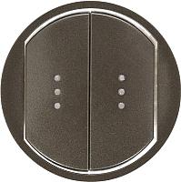 Лицевая панель для выключателя Legrand Celiane 67904 (графитовый) -