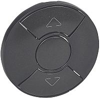 Лицевая панель для выключателя Legrand Celiane 67955 (графит) -