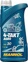 Моторное масло Mannol 4-Takt Agro SAE 30 / MN7203-1 (1л) -