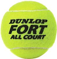 Набор теннисных мячей DUNLOP Fort All Court / 622DN601234 -