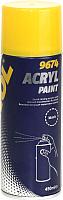 Краска автомобильная Mannol Acryl Paint / 9674 (450мл, черный) -