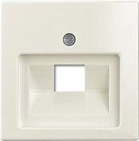 Лицевая панель для розетки ABB Basic 55 1753-0-0098 (слоновая кость) -