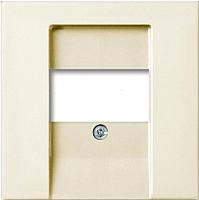 Лицевая панель для розетки ABB Basic 55 1724-0-4279 (слоновая кость) -