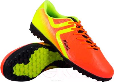 3b1fe3320eb0 Jogel Rapido JSH3001-Y (оранжевый, р-р 38) Бутсы футбольные купить в ...