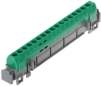 Шина нулевая Legrand 4835 (зеленый) -