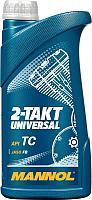 Моторное масло Mannol 2-Takt Universal TC / MN7205-1 (1л) -
