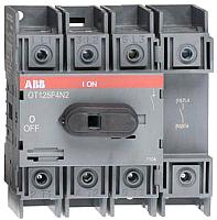 Выключатель нагрузки ABB OT125F4N2 125А 4P 5.5M / 1SCA105051R1001 -
