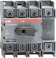 Выключатель нагрузки ABB OT100F4N2 100А 4P 5.5M / 1SCA105018R1001 -