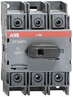 Выключатель нагрузки ABB OT100F3 100А 3P 4M / 1SCA105004R1001 -