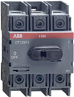 Выключатель нагрузки ABB OT125F3 125А 3P 4M / 1SCA105033R1001 -
