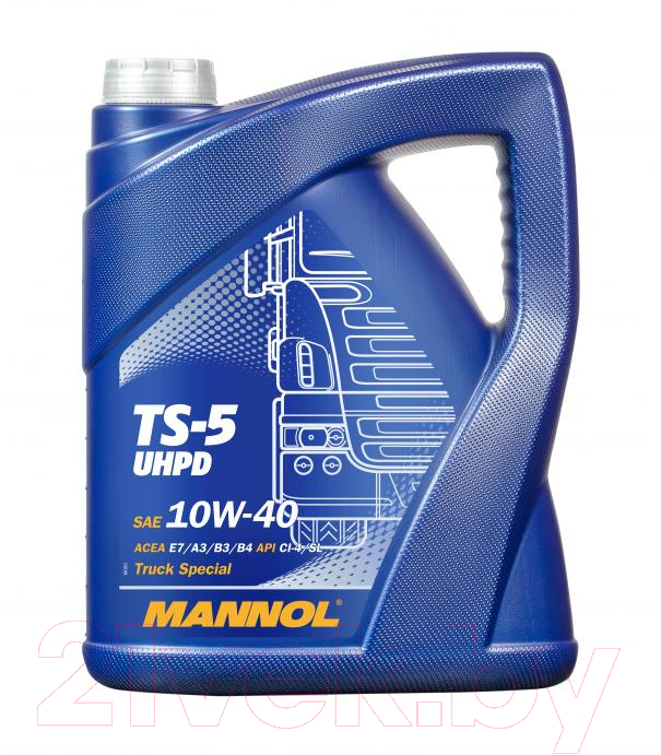 Купить Моторное масло Mannol, TS-5 UHPD 10W40 / MN7105-5 (5л), Китай