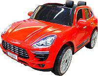 Детский автомобиль Sundays Porsche Macan BJS618 (красный) -