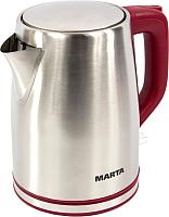 Электрочайник Marta MT-1092 (красный гранат) -