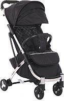 Детская прогулочная коляска Sundays Baby S600 Plus (металлическая база, черный) -