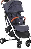 Детская прогулочная коляска Sundays Baby S600 Plus (белая база, джинс) -
