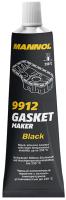 Герметик силиконовый Mannol Silicone-Gasket / 9912 (85г, черный) -