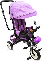 Детский велосипед с ручкой Sundays SJ-05 (пурпурный) -