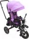 Детский велосипед с ручкой Sundays SJ-06 (светло-пурпурный) -