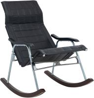 Кресло-качалка Импэкс Белтех складной (черный) -