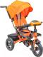 Детский велосипед с ручкой Sundays N-41-TR-01 (оранжевый) -