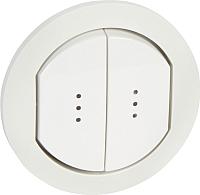 Лицевая панель для выключателя Legrand Celiane 67804 (белый) -