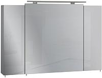 Шкаф с зеркалом для ванной Sanwerk Everest 100 / MV0000802 (с подсветкой) -