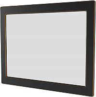 Зеркало Аква Родос Беатриче 100 / АР0002255 (черный/патина золото) -