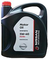 Моторное масло Nissan 5W40 / KE90090042VA (5л) -