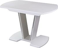 Обеденный стол Домотека Румба ПО (белый/белый/03) -
