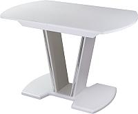 Обеденный стол Домотека Танго ПО (белый/белый/03) -