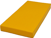 Гимнастический мат KMS sport №1 1x0.5x0.1м (желтый) -