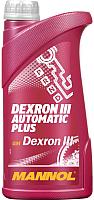 Трансмиссионное масло Mannol ATF Dexron III / MN8206-1 (1л) -