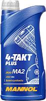 Моторное масло Mannol 4-Takt Plus 10W40 / MN7202-1 (1л) -
